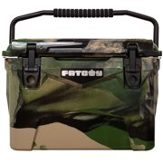 Fatboy 20 Quart Roto Molded Hard Sided Cooler Army Camo