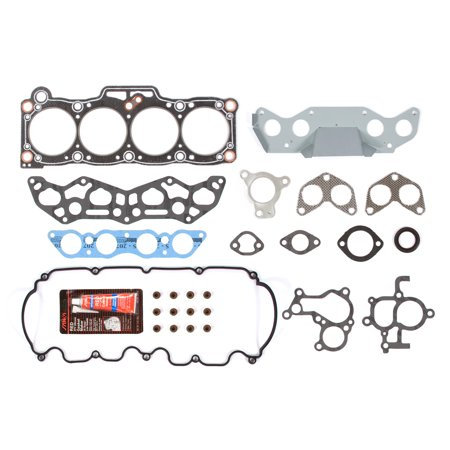 Evergreen HS6005 Head Gasket Set Fits 88-92 Ford Probe Mazda MX6 626 Turbo 2.2 SOHC 12V (Sohc 12v Head Gasket)