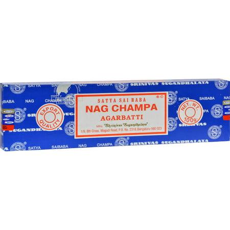 Sai Baba Nag Champa Agarbatti Incense - 100 g