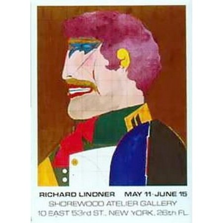 Shorewood  Ltd Availability  Poster Print By Richard Lindner  22 X 28