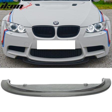 Front Lip Seibon Carbon - Fits 08-13 E90 E92 E93 M3 CRT Style Front Bumper Lip Spoiler - Carbon Fiber (CF)