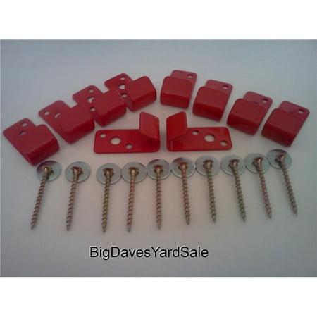 BigDavesYardSale 710822944658 10 - Universal Fire Extinguisher Wall Hook, Mount, Bracket & Hanger, 2.5 (2.5 Wall Mounted Bracket)
