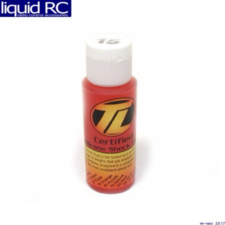 Team Losi Racing 74000 Losa5221 Silicone Shock Oil 15 Wt 2oz