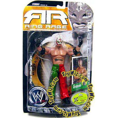 Rey Mysterio Action Figure Ruthless Aggression Series 22.5 Ring Rage - Rey Mysterio Suit