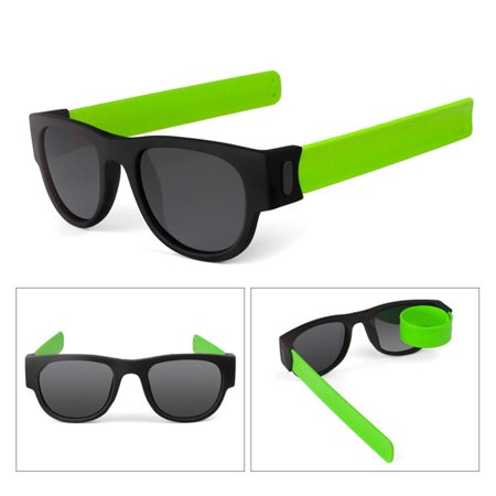 Folding Popa Circle Riding Sunglasses Men'S Sunglasses Folding Sunglasses - image 2 de 9