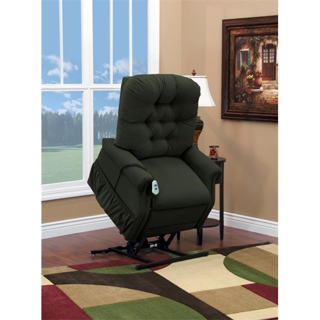 Medlift 1553W--AAH WIDE-Petite Three-Way Reclining Lift Chair - Aaron-Hunter
