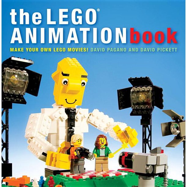The Lego Animation Book Make Your Own Lego Movies Walmart Com Walmart Com