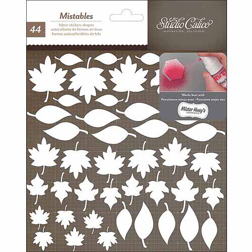 """Studio Calico Yearbook Mistable Thickers Shape Stickers, 6"""" x 6"""""""