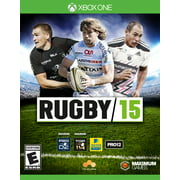 Rugby 15, Maximum Games, Xbox One, 814290013073