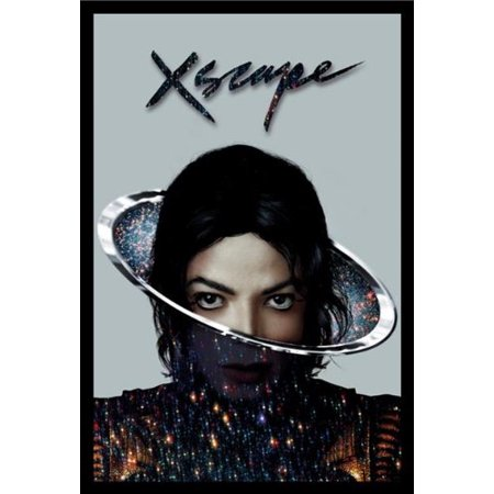 FRAMED Michael Jackson Xscape 36x24 Album Cover Art Print Poster King Of Pop Escape