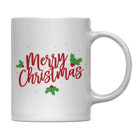 - Andaz Press 11oz. Funny Christmas Coffee Mug Gag Gift, Merry Christmas, 1-Pack