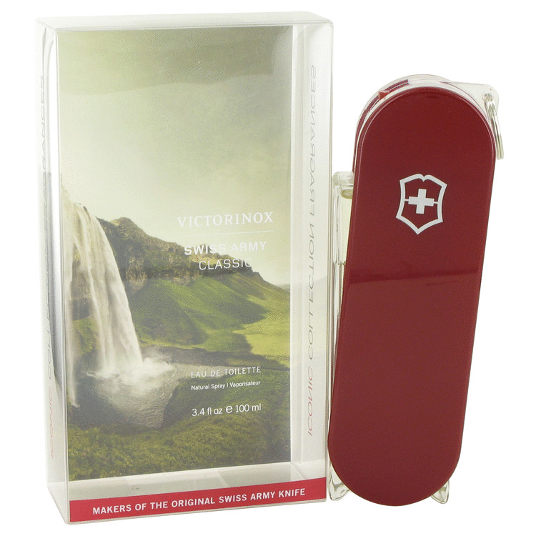 Swiss Army - SWISS ARMY Eau De Toilette Spray (Iconic Collection Swing Out Bottle) - 3.4 oz