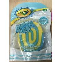 Crayola Yellow Swirl Bubble Bath Bar