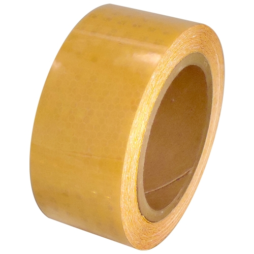 2 inch x 30 ft Yellow Super Bright High Intensity Reflective Tape