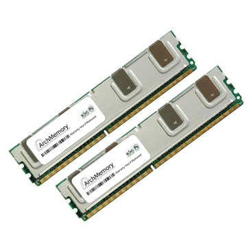 8GB DDR2 667MHz 240p Fully Buffered Chipkill kit of 2 pie...