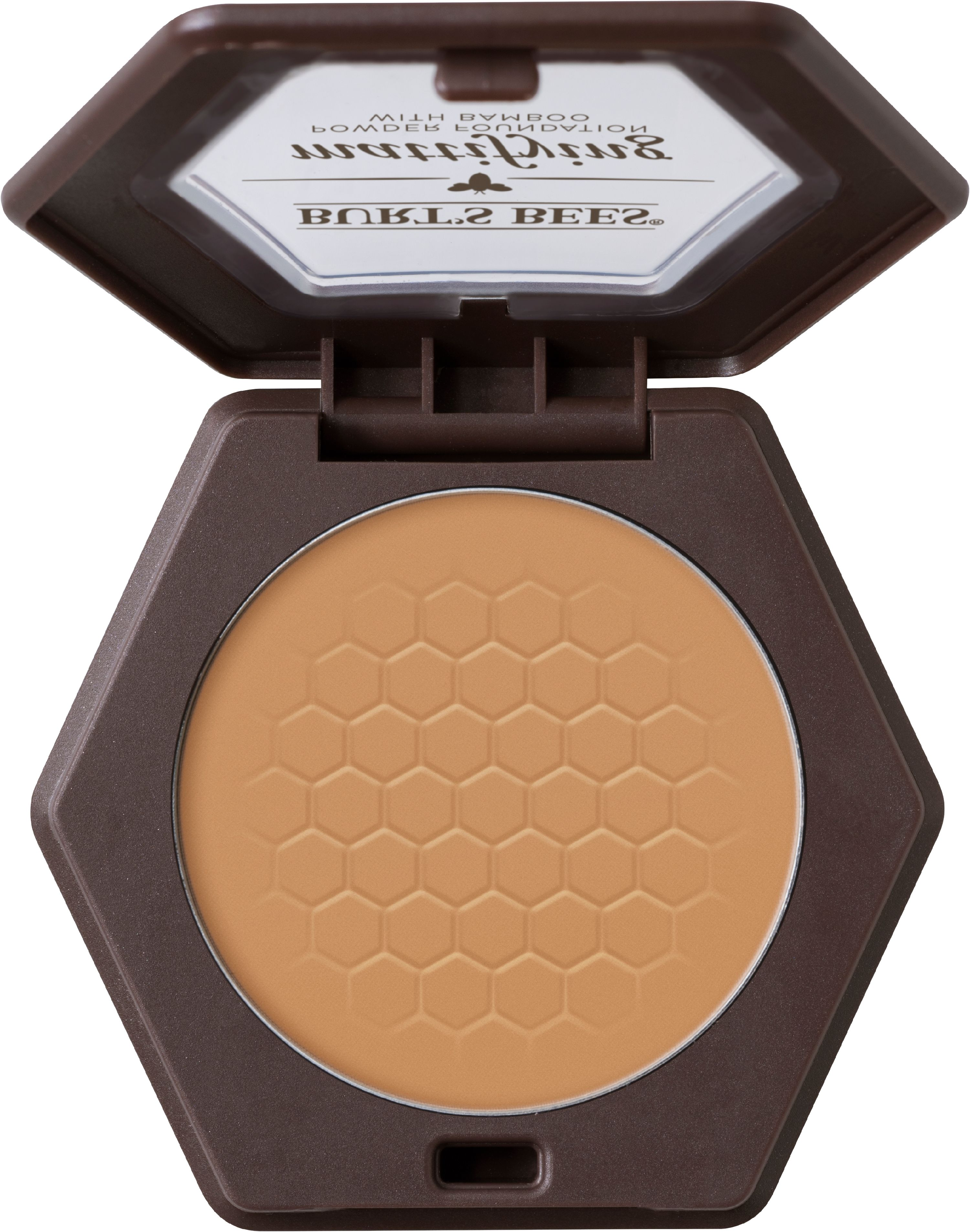 Burts Bees 100% Natural Mattifying Powder Foundation, Nutmeg - 0.3 Ounce