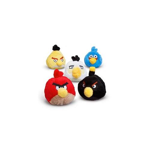 Mayflower 221863 Plush Angry Birds with Sound - Blue