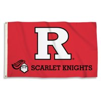 Bsi Products Inc Rutgers Scarlet Knights Flag with Grommets Flag with Grommets