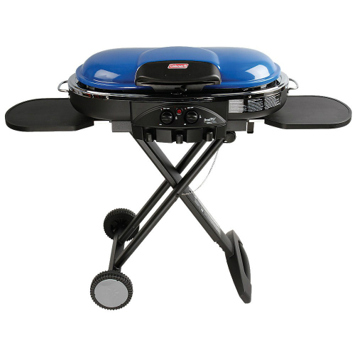Coleman LXE PPN Roadtrip Grill - Blue  Grill Roadtrip Accessories