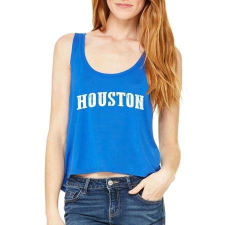 Texas Houston Womens Tops Boxy (Suit Rental Houston)