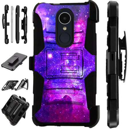 Compatible LG Aristo 3 (2019) | K9s (2019) | Fortune 3 | Tribute Empire | Risio 4 Case Armor Hybrid Phone Cover (Best Phone In World 2019)