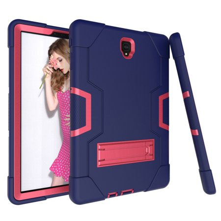 Allytech Samsung Galaxy Tab S4 10.5 2018 Case, [Heavy Duty] Rugged Hybrid Protective Kids Proof Case Cover Build in Kickstand for Samsung Galaxy Tab S4 10.5 inch SM-T830/T835/T837
