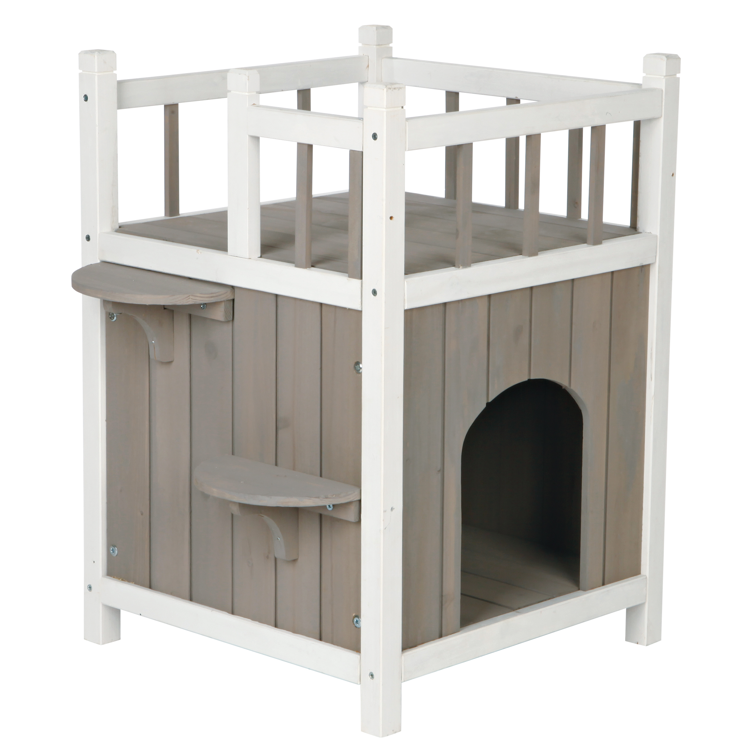 Trixie Pet Products Natura Pet Home With Balcony On Top For Indoor Outdoor Use Walmart Com Walmart Com