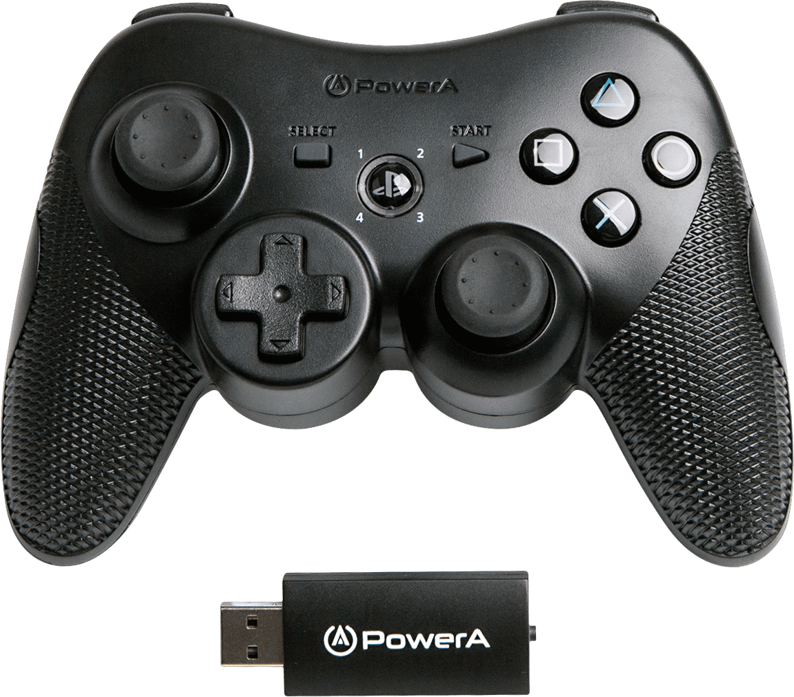 Powera Wireless Controller For Playstation 3 Black Walmart Com Walmart Com