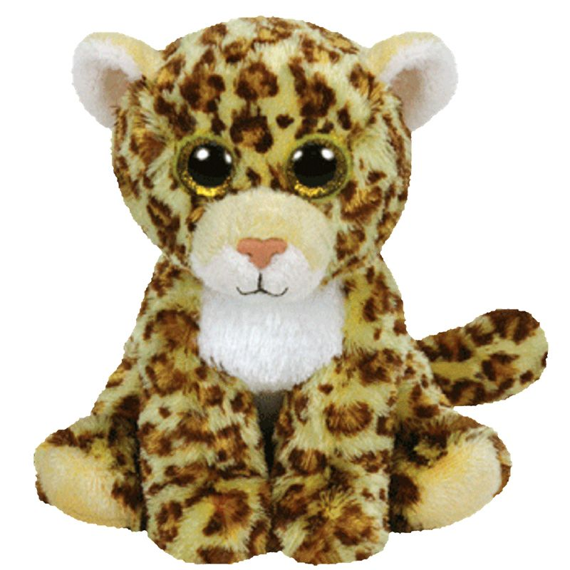 Spotty Cheetah Beanie Baby Stuffed Animal By Ty 42101 Walmart Com
