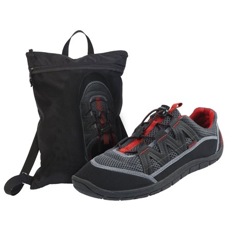 Northside Mens Brille II Slip On Sport Water Shoe and Wet/Dry Bag Combo (Brille Frame-typen)