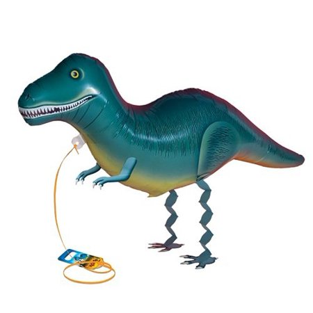 Tyrannosaurus, Your pet comes with its own leash and pull tag attached for personalization By My Own Pet Balloons From - Create Your Own Balloon