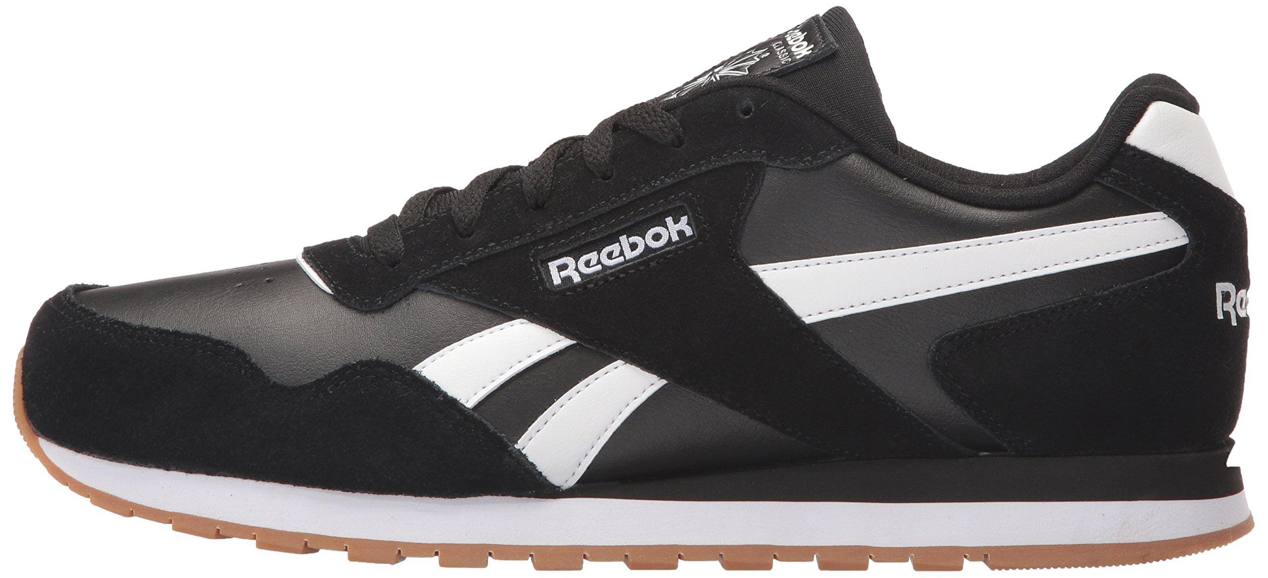 c607f85413f Reebok - Reebok CM9924   Men s Classic Harman Run Sneaker Black White Gum (11  D(M) US) - Walmart.com