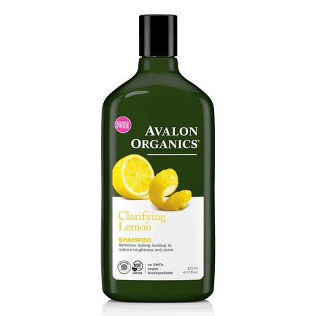 Avalon Organics Clarifying Lemon Shampoo, 11 Fl OZ ()