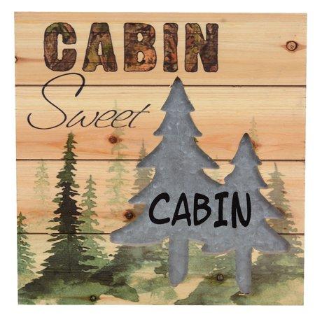Sweet Cabin Wall Art - CLEARANCE - Walmart.com