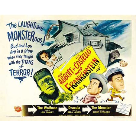 Cindy Lou Costumes (Bud Abbott Lou Costello Meet Frankenstein POSTER (22x28) (1948) (Half Sheet Style)