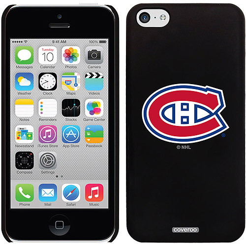 Montreal Canadiens Primary Logo Design on iPhone 5c Thinshield Snap-On Case by Coveroo