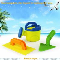 3Pcs Sand Sandbeach Kids Beach Spade Shovel Rake Water Tools Toys For Kids