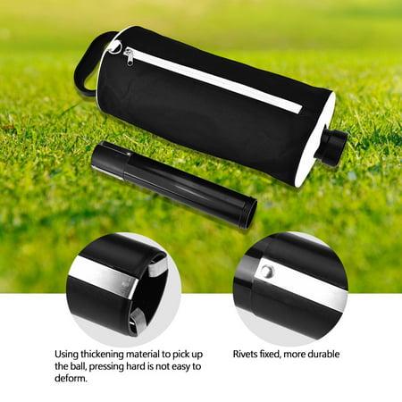 Yosoo Portable Golf Ball Picker Pick-Ups Retrievers Pocket Storage Bag Scooping Device,Golf Picker, Golf Pick-up