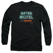Psycho Bates Motel Mens Long Sleeve Shirt