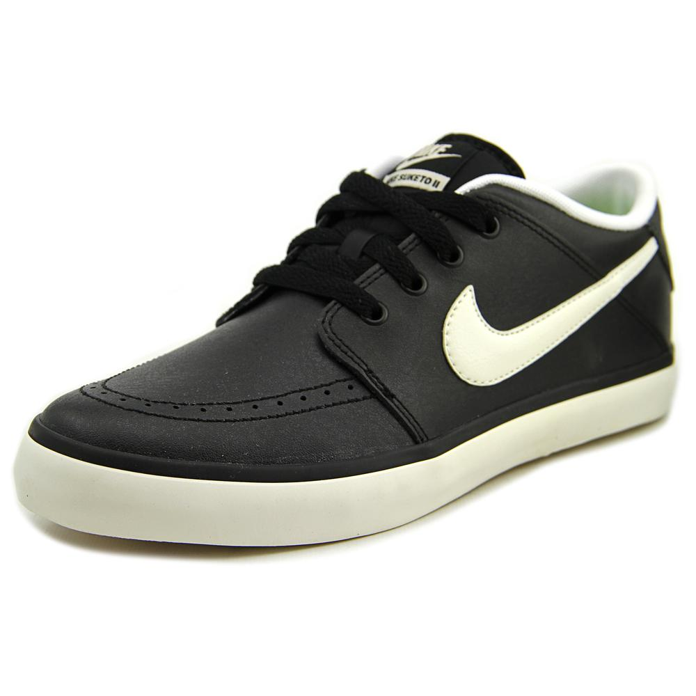 ... white online; nike suketo 2 leather black sneakers