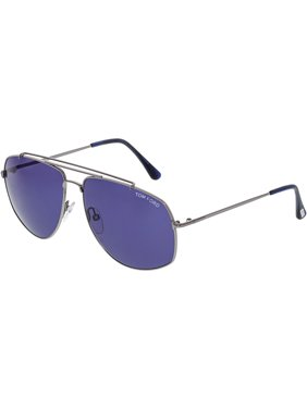 fc74c820a90 Product Image Tom Ford Georges FT0496-14V-59 Silver Aviator Sunglasses