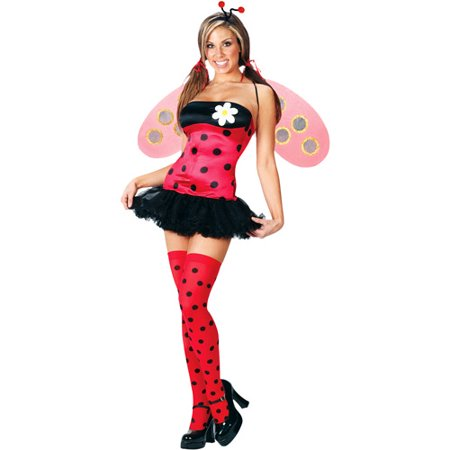 Leggy Ladybug Adult Halloween Costume - Lady Bug Costume Adult