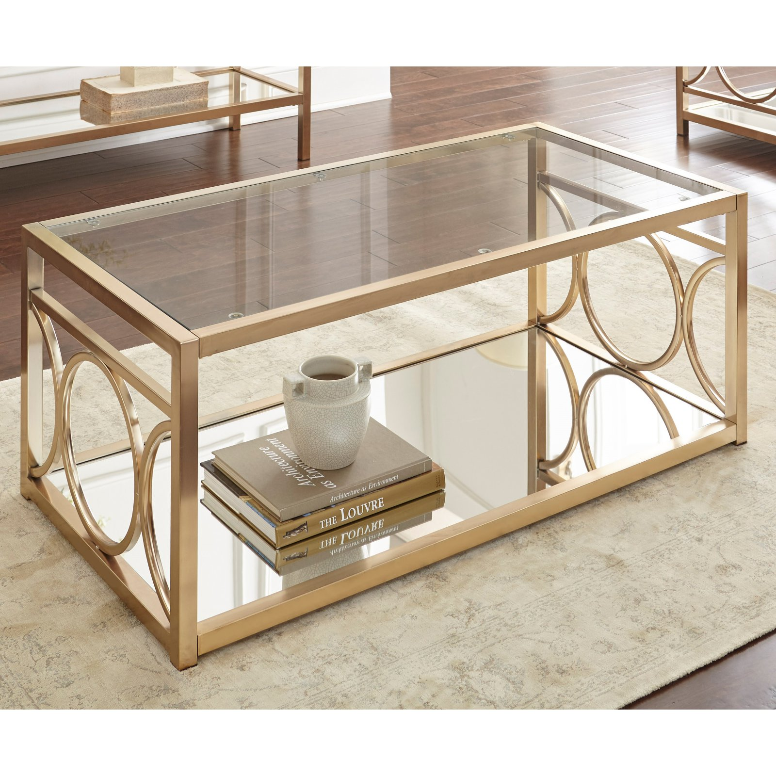 Steve Silver Co Olympia Cocktail Table by Steve Silver Company