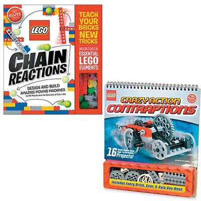 LEGO CHAIN REACTIONS & CRAZY CONTRAPTIONS: SET OF 2(13791499)