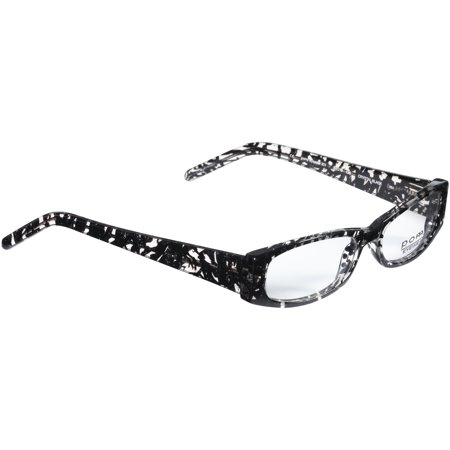 POMY Eyewear Rx-able Eyeglass Frames 301 Crystal Black