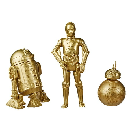 Star Wars Skywalker Saga 3.75-inch Scale C-3PO, BB-8 and R2-D2 Toys Star Wars: The Rise of Skywalker Action Figure 2-Pack, Kids Ages 4 and Up