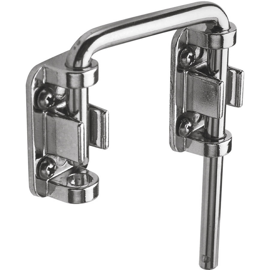 "Prime Line U9847 2-1/8"" Chrome Plated Steel Sliding Door Loop Lock"