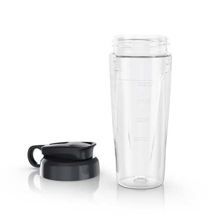 BLACK+DECKER PowerCrush BPA-Free Tritan® Personal Blender Jar with Travel Lid and compatible with BLACK+DECKER Quiet Blenders /PowerCrush Blenders, PBJ1650 Take your favorite blended drinks to go! This 18-oz. personal blender jar is made of durable Tritan plastic, and its BPA-free so you can feel good about using it. The twist-on travel lid lets you take protein shakes to the gym or enjoy blended drinks in the backyard. Compatible with BLACK+DECKER PowerCrush Blenders.
