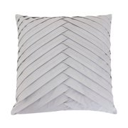 Thro 20x20 James Pleated Velvet Pillow