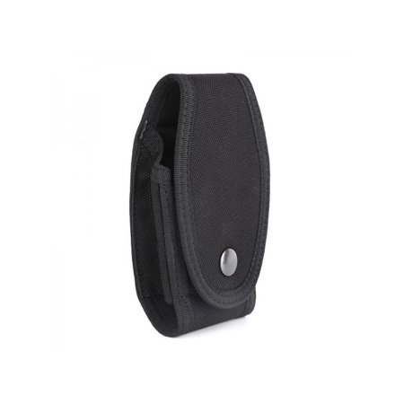 Cuff Case Nylon (Topumt Handcuff Case Black Nylon Belt Holder Security Pouch Duty Snap Safety Key Bag)